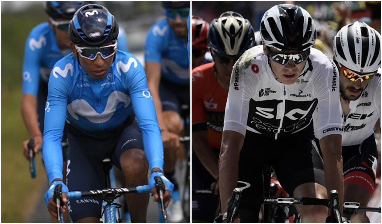 Nairo Quintana y Chris Froome perdieron tiempo en la primera etapa del Tour
