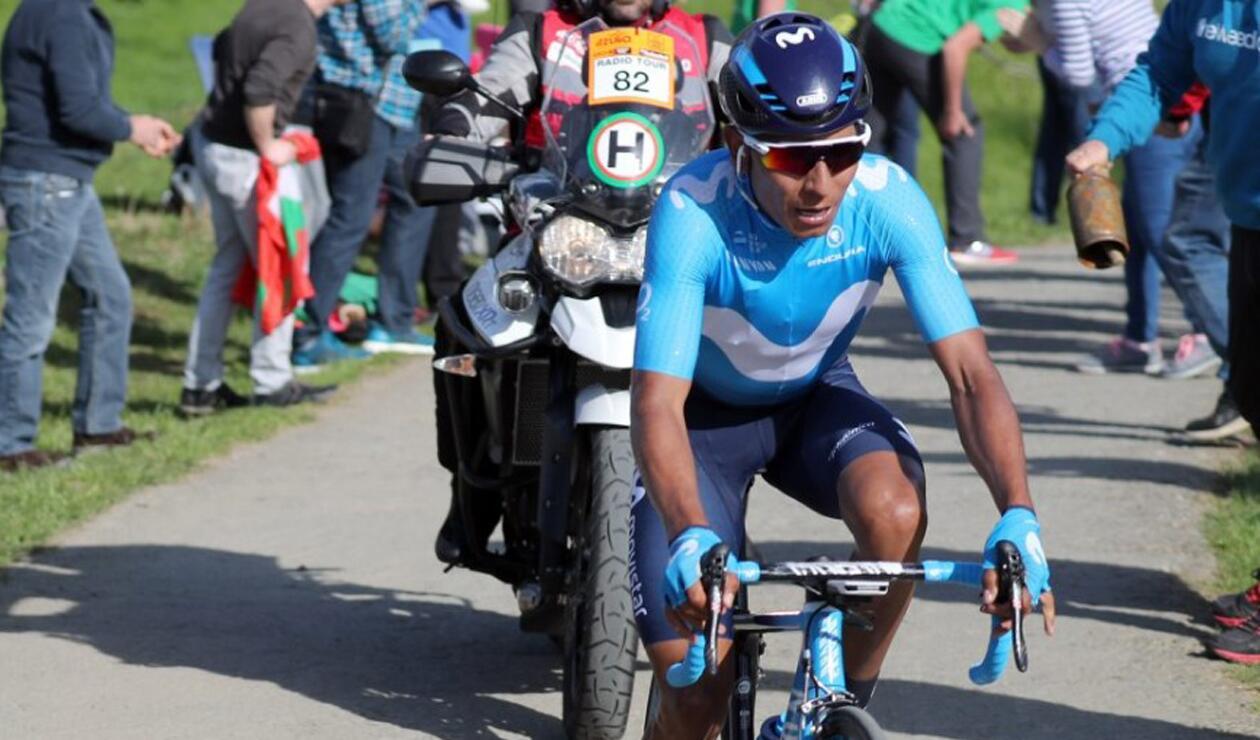 Nairo Quintana ya es tercero de la Vuelta a España