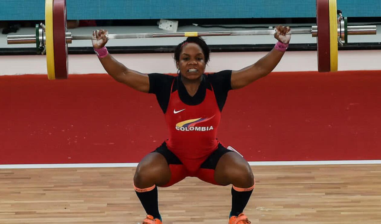 Natalia Llamosa ganó el oro en 63 kg y rompió récord centroamericano