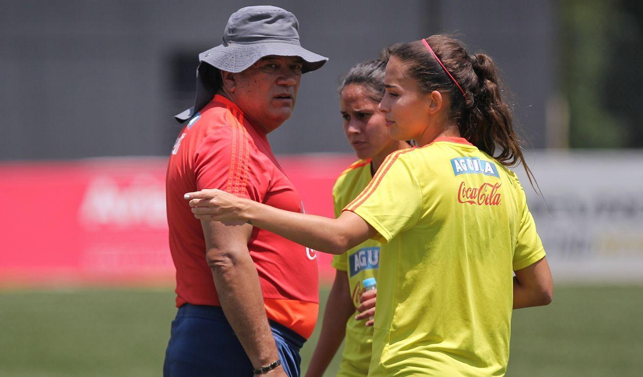 Nelson Abadía fue despedido de la Selección Colombia femenina