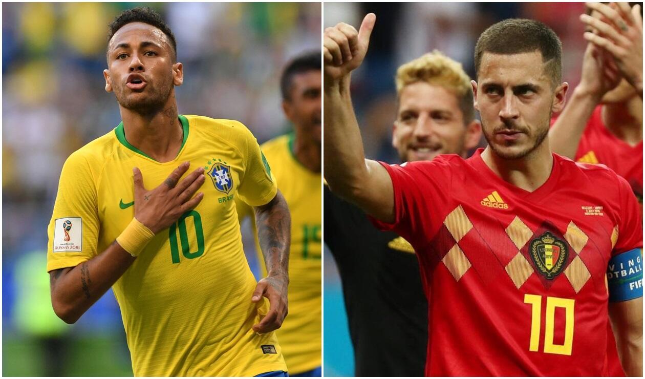 Resultado de imagen para brasil vs belgica