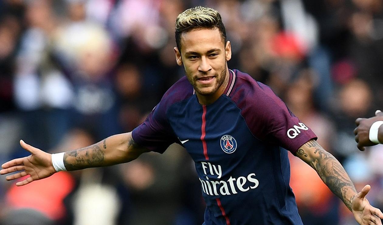 Neymar, jugador del París Saint Germain