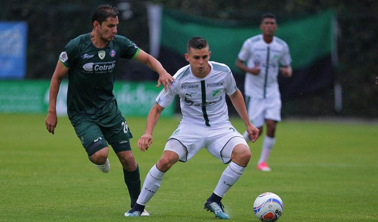Nicolás Benedetti, delantero del Deportivo Cali