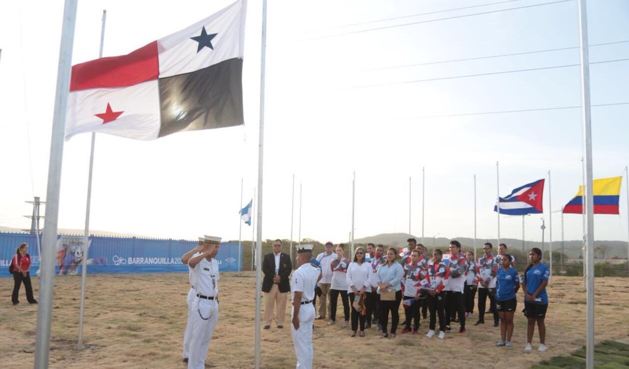 Presentada la bandera de Panamá en los Juegos Centroamericanos y del caribe