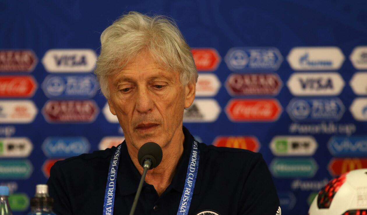 José Pékerman, técnico de la Selección Colombia