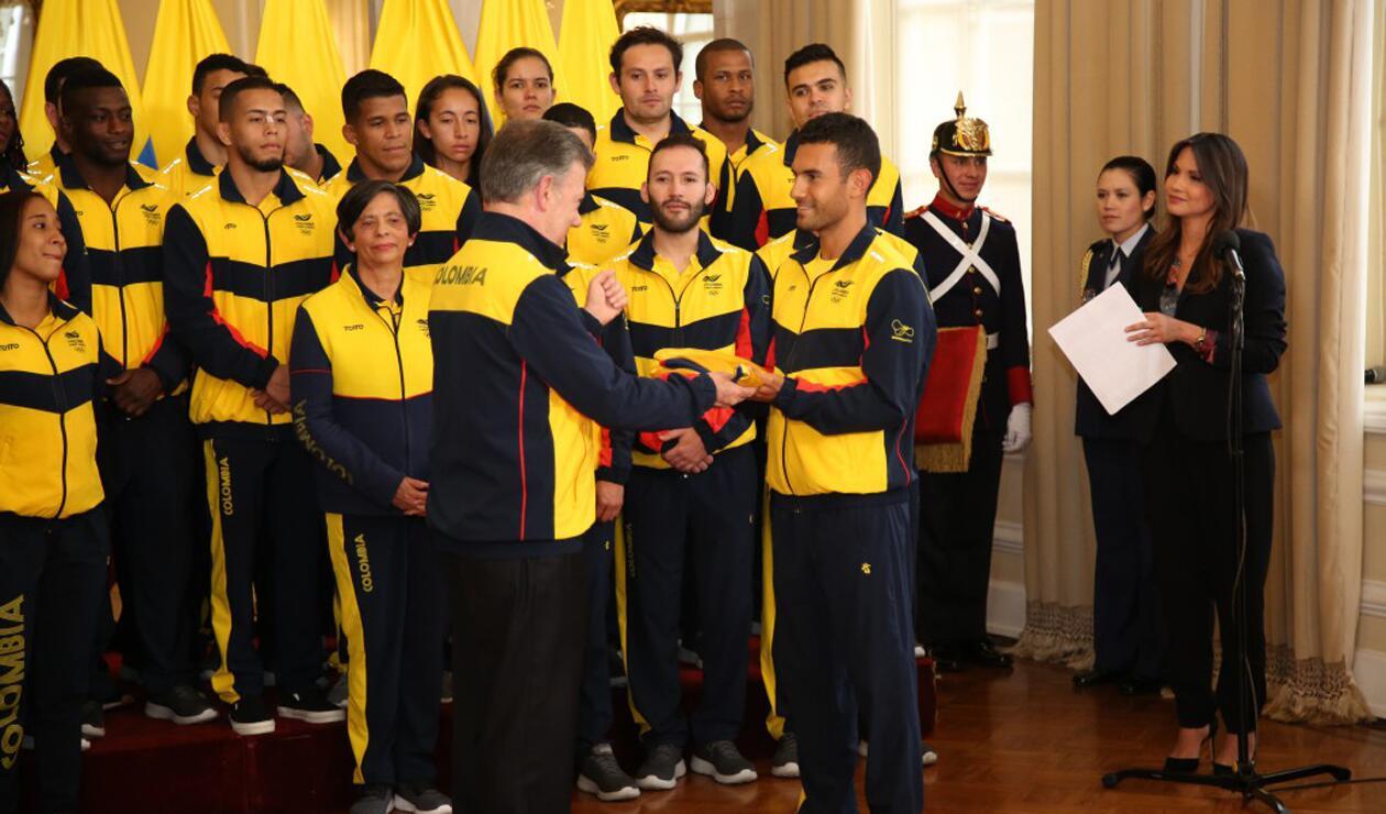 Éider Arévalo es el abanderado de Colombia para Barranquilla 2018
