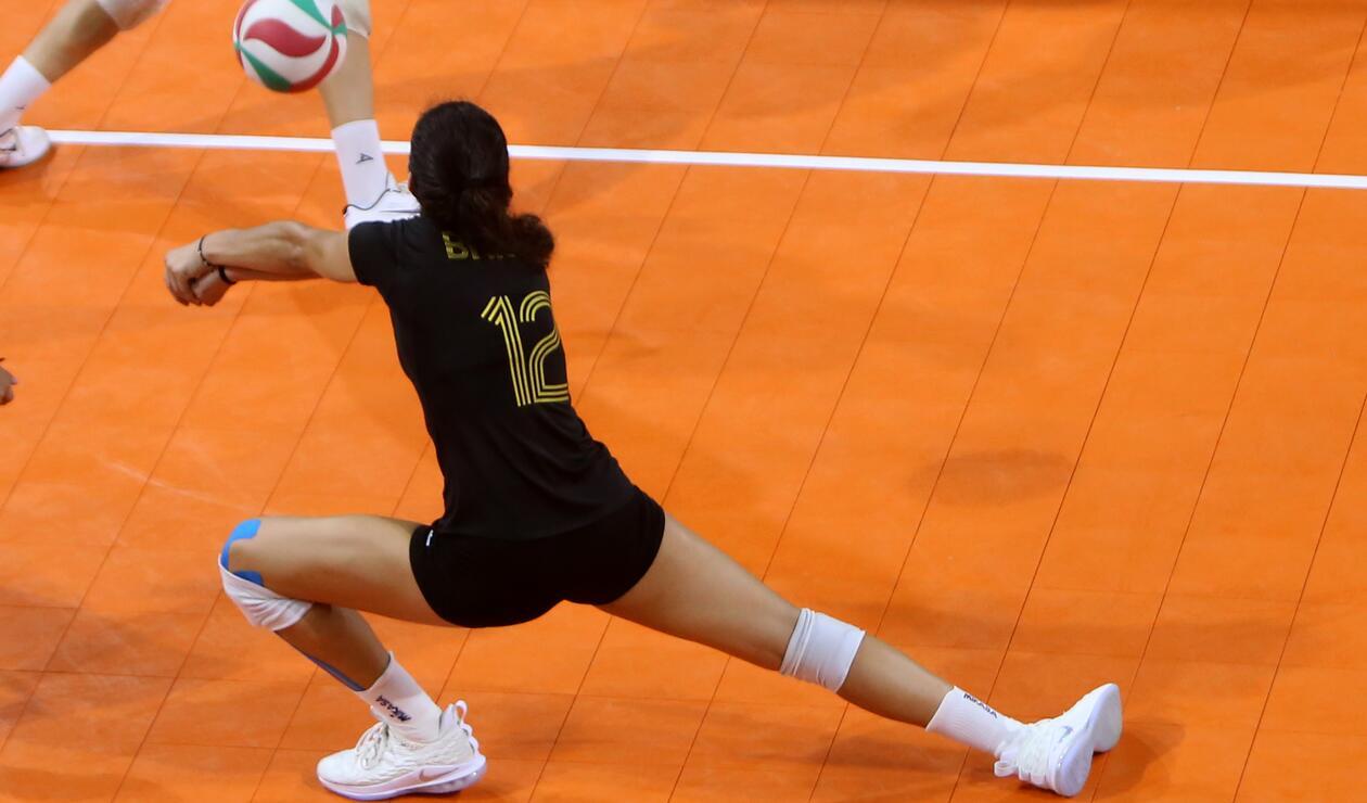 México se esforzó al máximo por evitar la victoria de Puerto Rico en el voleibol femenino