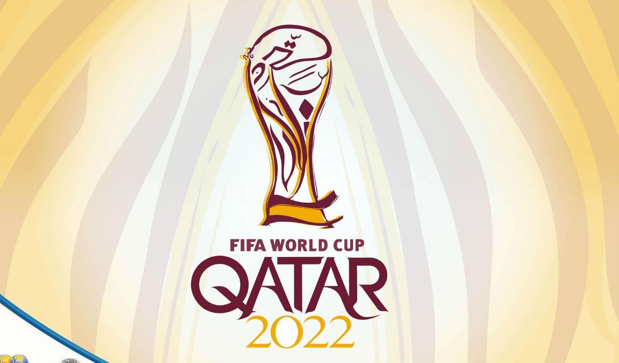 Afiche oficial del Mudial Catar 2022