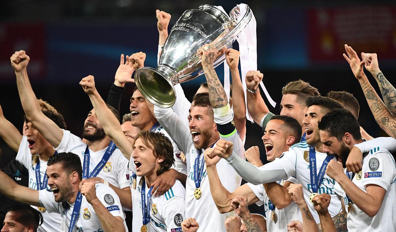 Real Madrid campeón de la UEFA Champions League 2017-2018.