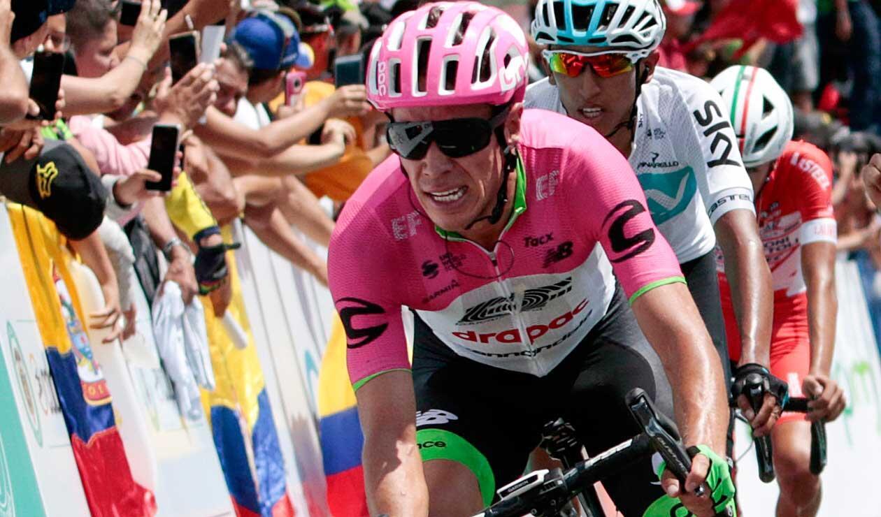 Rigoberto Urán, noveno en la general del Tour de Francia
