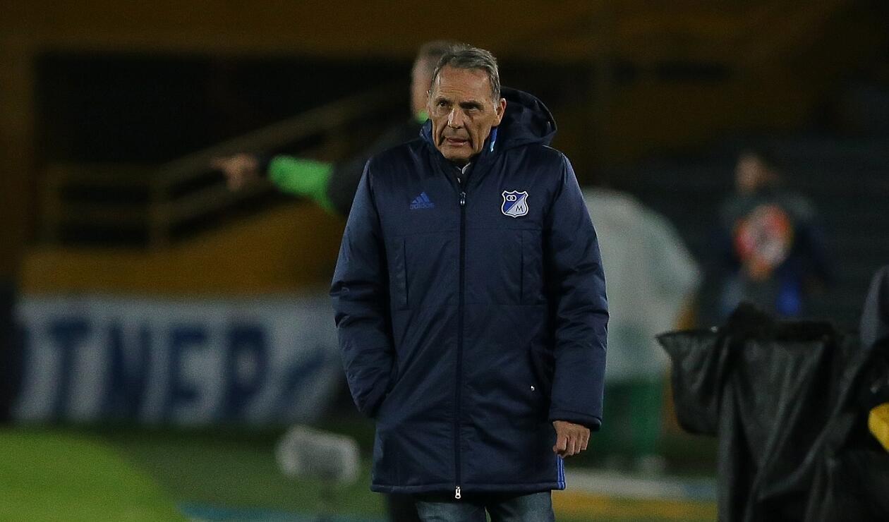 Miguel Ángel Russo analizó y evaluó el empate de Millonarios frente al Chicó