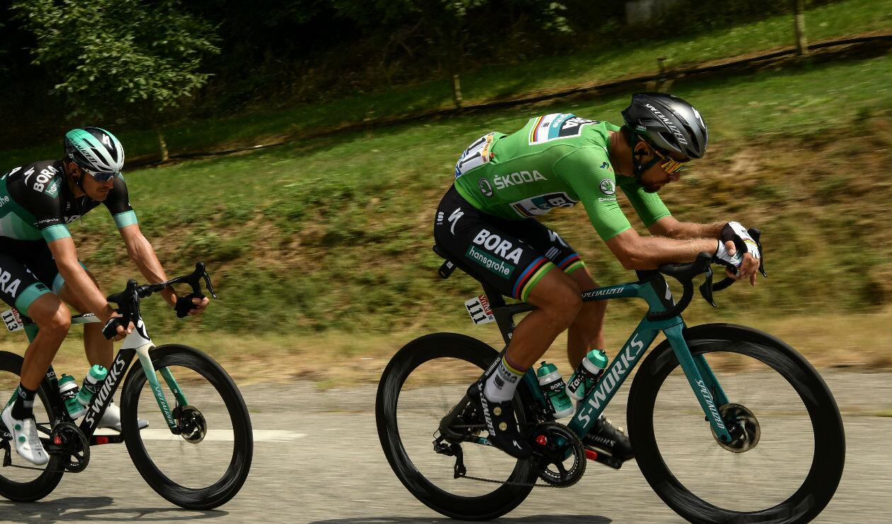 Peter Sagan amplia su ventaja por la conquista del Maillot Verde
