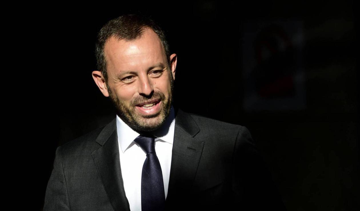 Sandro Rosell expresidente del FC Barcelona