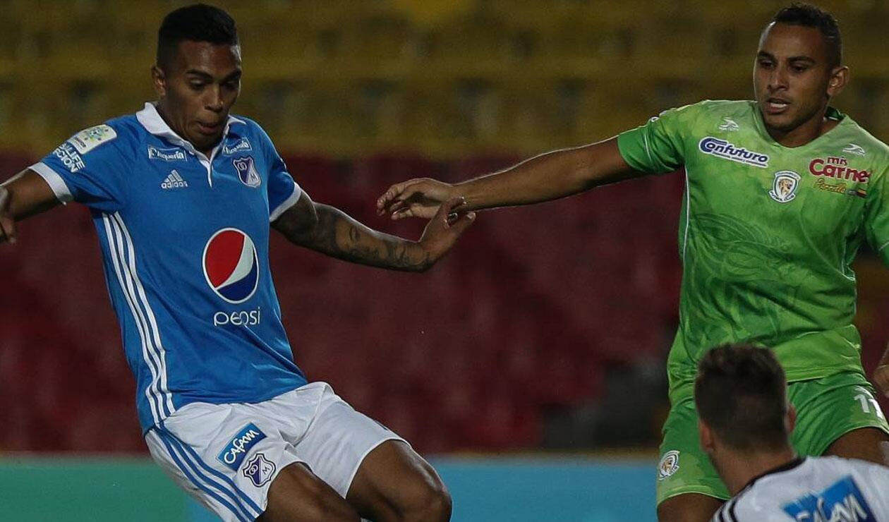 Sebastián Ayala, jugador de Millonarios