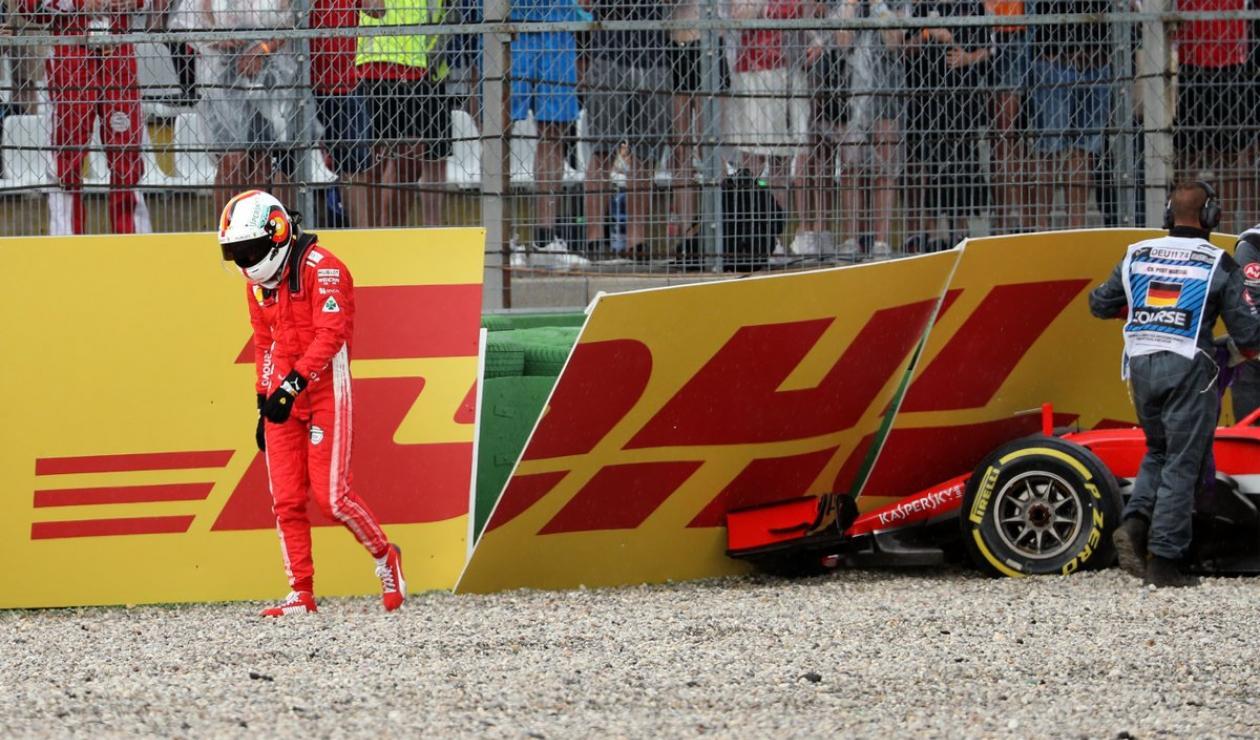 Sebastian Vettel Ferrari GP Alemania