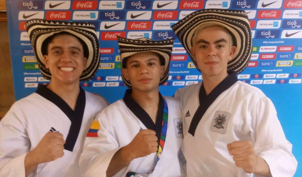Taekwondo Colombia Oro equipos