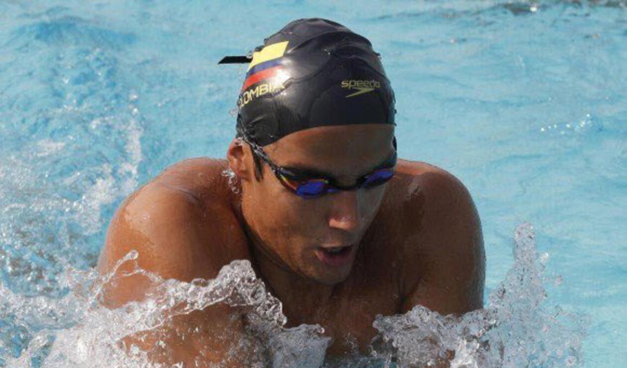 Jorge Murillo, nadador colombiano