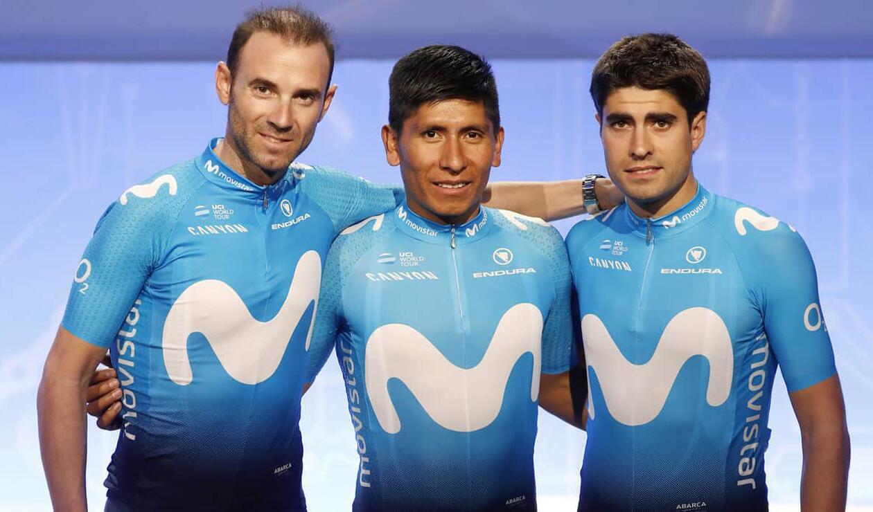 Valverde Nairo Landa Movistar Team