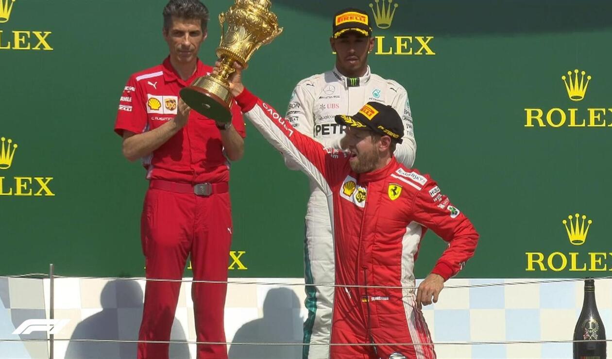 Sebastian Vettel Ferrari GP Gran Bretaña