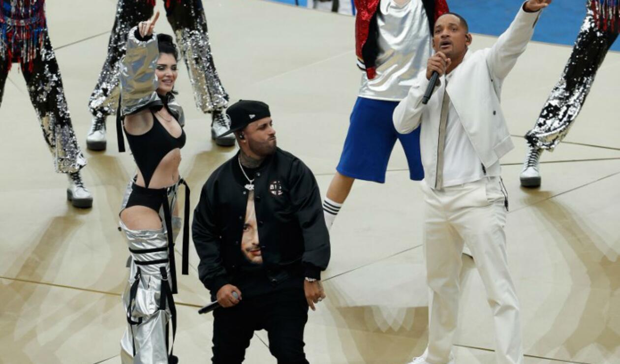 Will Smith y Nicky Jam en cierre del Mundial de Rusia