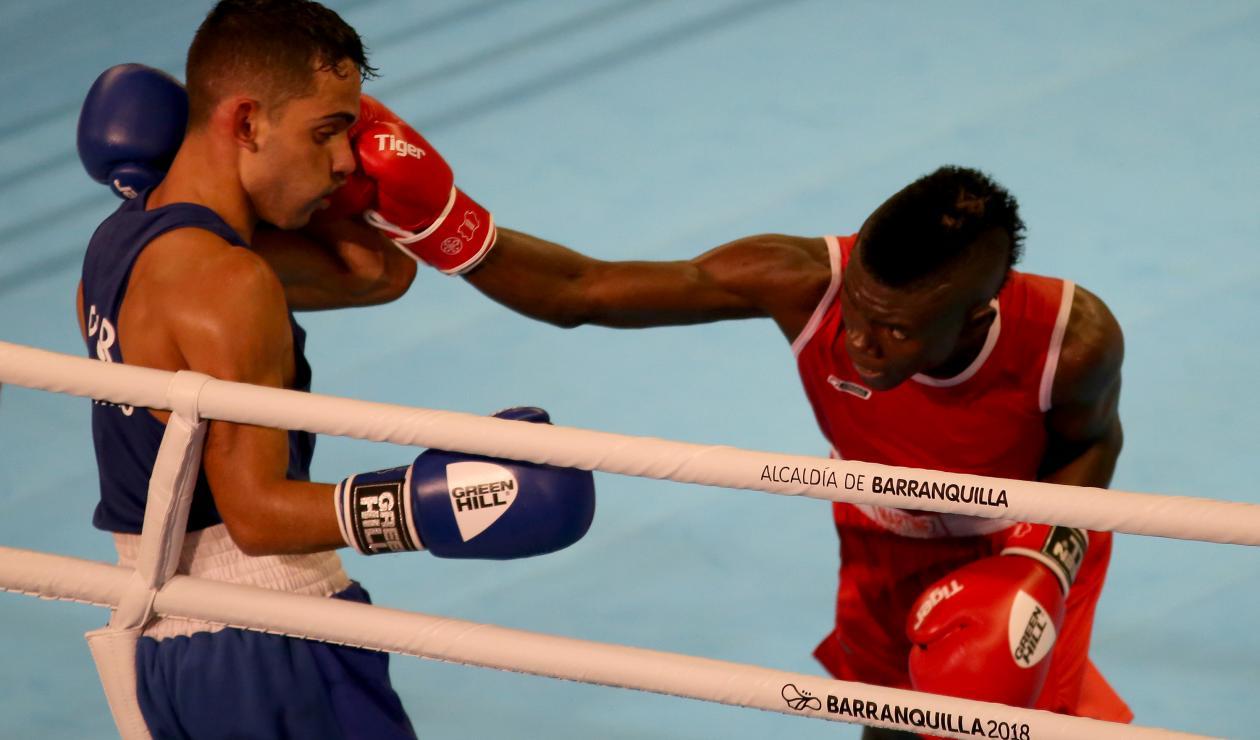 Yuberjen Martínez pasó a la semifinal de boxeo en los 49kg