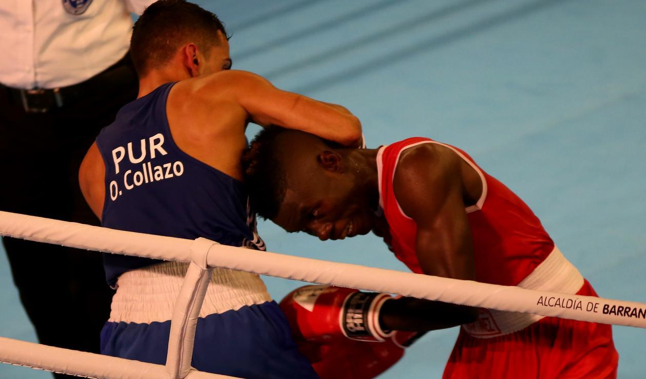 Yuberjen Martínez pasó a la semifinal de boxeo