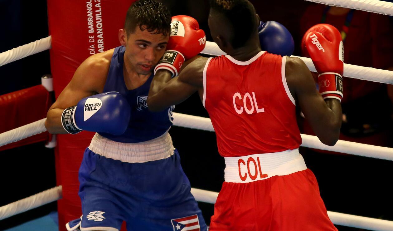 Yuberjen Martínez venció a Óscar Collazo de Puerto Rico