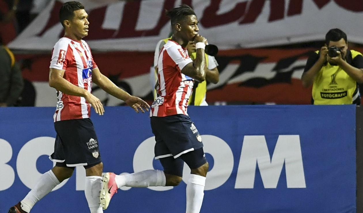 Yony Gonzalez no se consolidó en el once titular de Julio Comesaña en Junior de Barranquilla