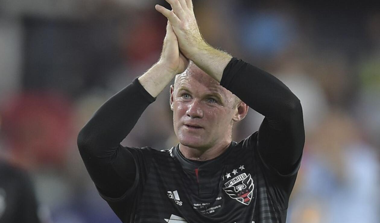 El inglés Wayne Rooney después de hacer una jugada increíble que le dio la victoria al DC United