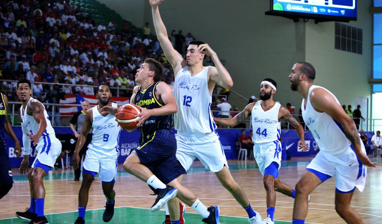 Colombia se quedó con la plata en baloncesto · Juegos Centroamericanos y del Caribe Barranquilla 2018