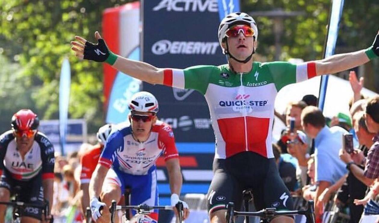 Elia Viviani, ciclista del Quick Step