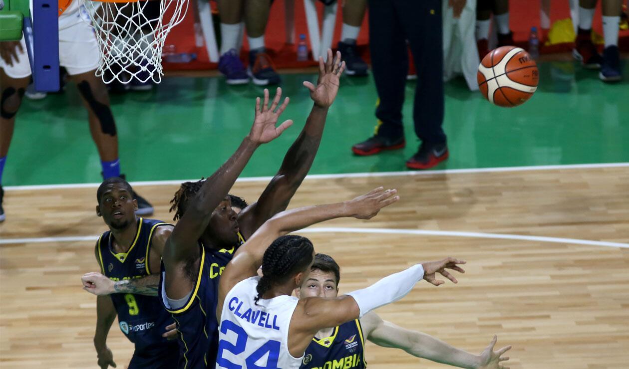 La final del baloncesto masculino entre Colombia y Puerto Rico en los Juegos Centroamericanos y del Caribe Barranquilla 2018