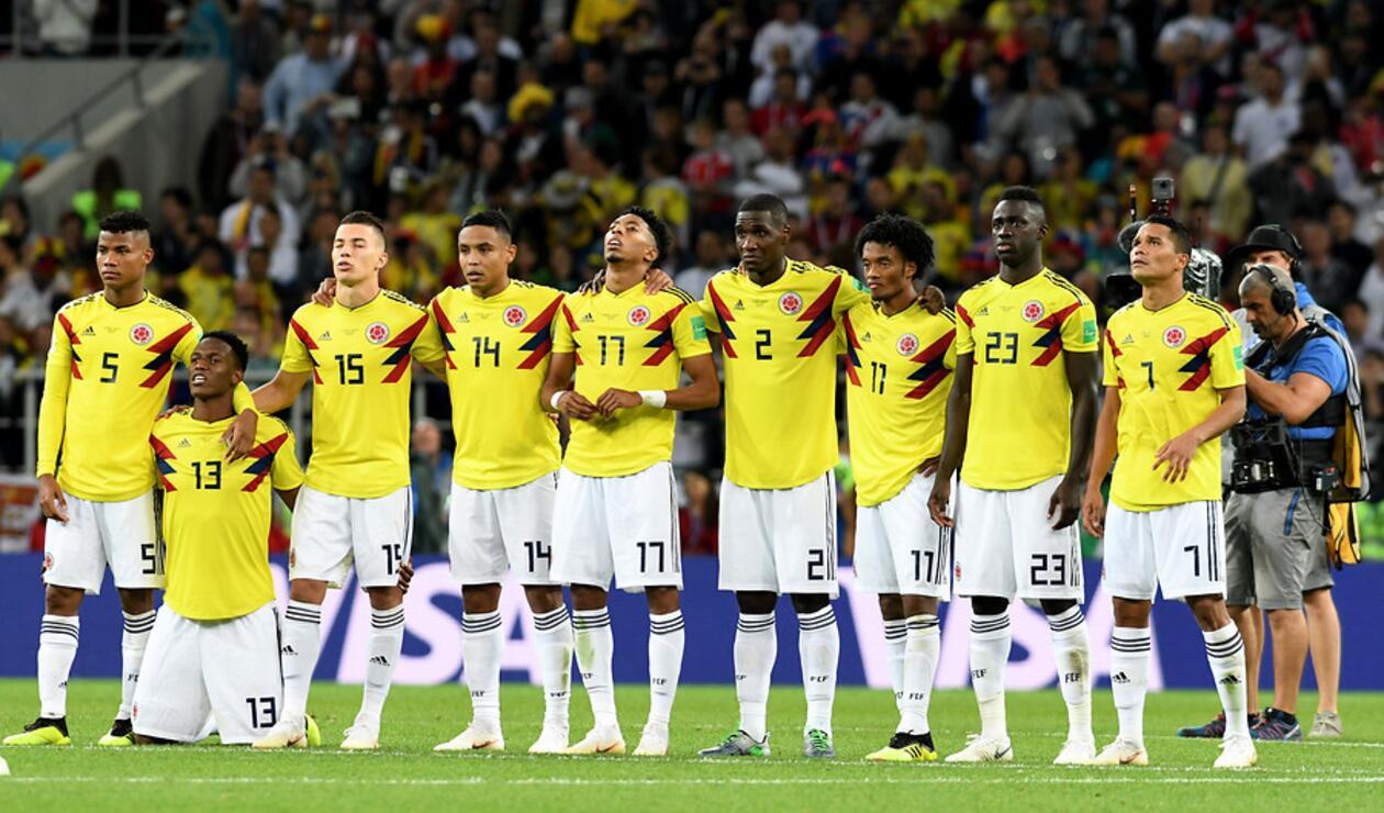 Wilmar Barrios fue figura con la Selección Colombia en Rusia 2018