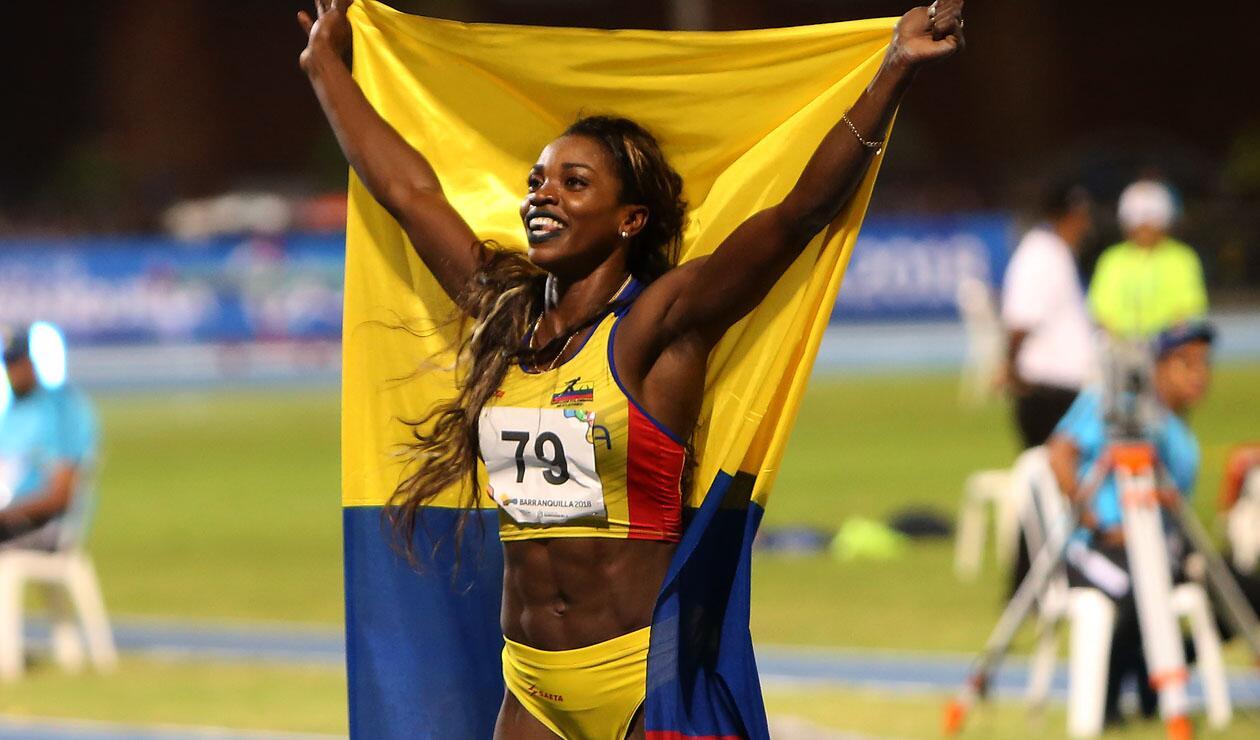 Caterine Ibargüen ganó la medalla de oro en salto triple