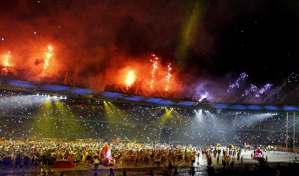 Las mejores imágenes de la clausura de los Juegos Centroamericanos 2018