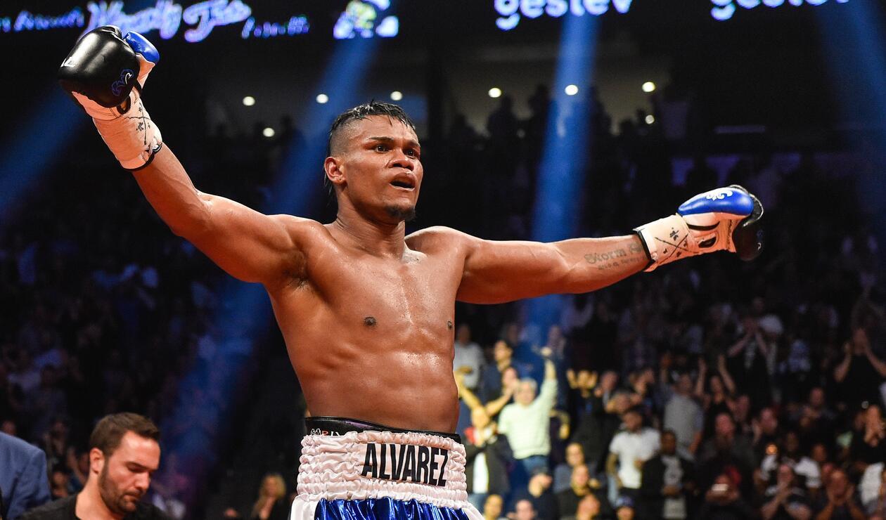 Eléider Álvarez, boxeador colombiano