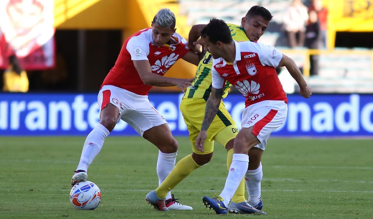Santa Fe y Bucaramanga en la Liga Águila