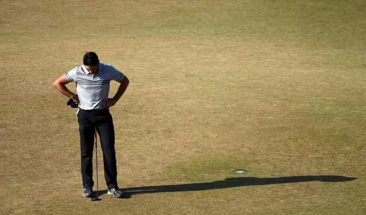 Jason Day, considerado uno de los jugadores más lentos del PGA Tour.