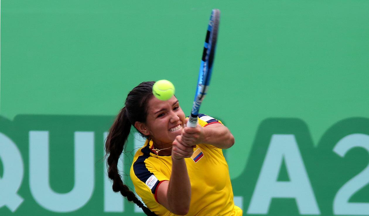 Oro en tenis para el equipo femenino de Colombia en el tenis de los Juegos Centroamericanos y del Caribe Barranquilla 2018