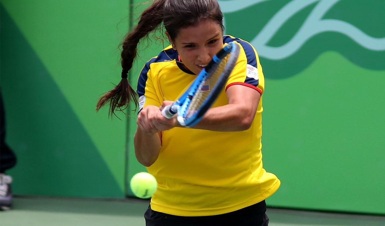 Oro por equipos femenino del tenis en los Juegos Centroamericanos y del Caribe Barranquilla 2018