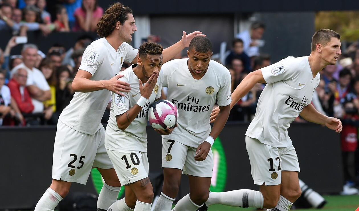 PSG empezó con pie derecho en la Ligue 1