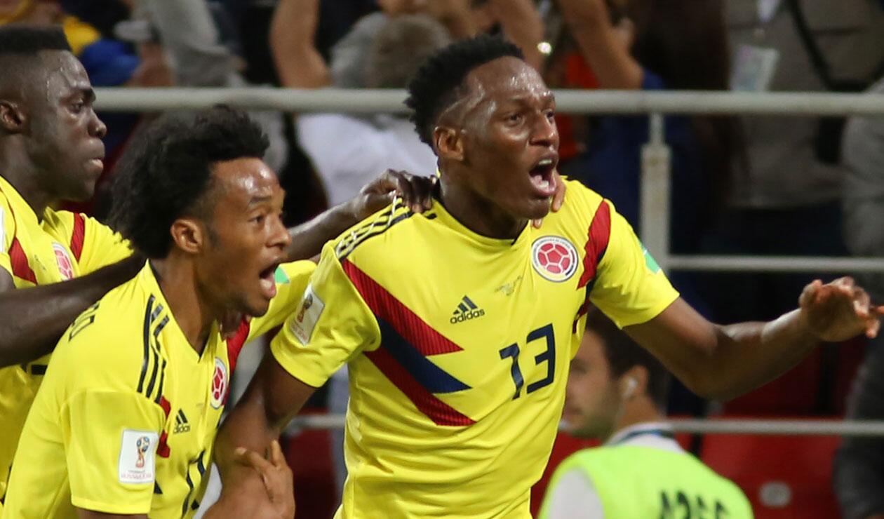 Yerry Mina, la gran figura de Colombia en el Mundial de Rusia
