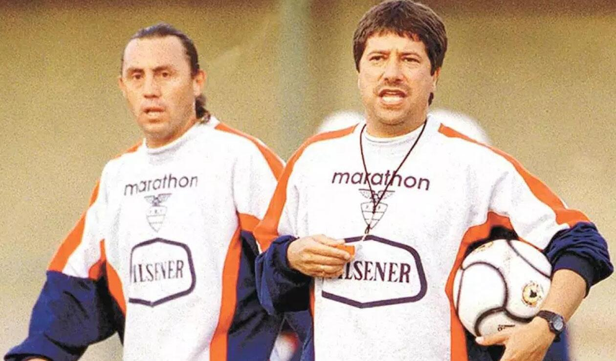 Álex Aguinaga y Hernán Darío Gómez