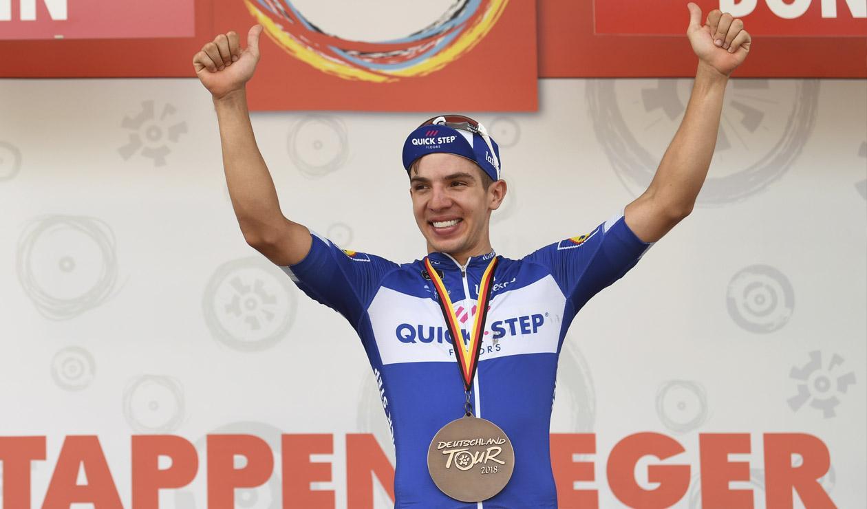 Álvaro Hodeg, ciclista colombiano