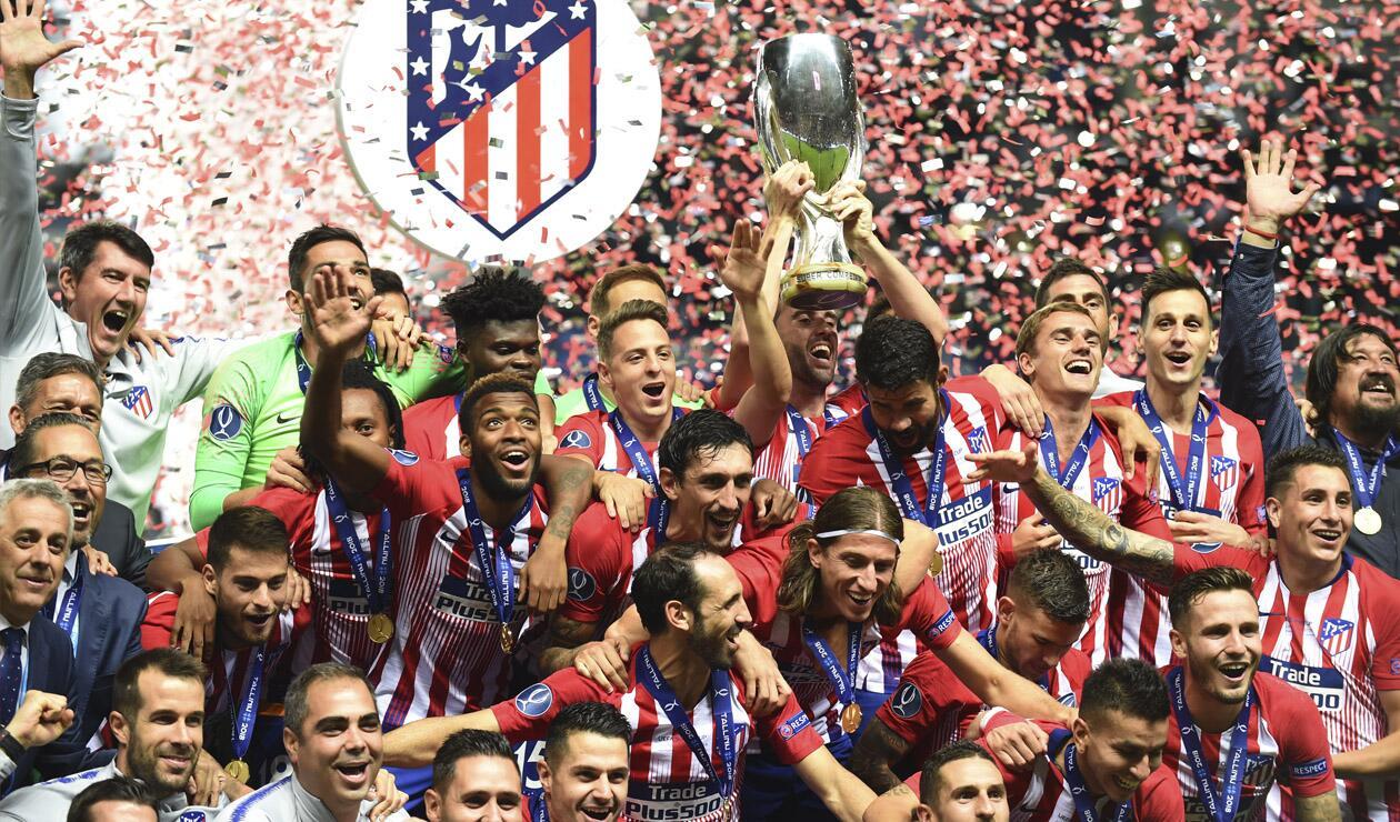 Atlético Madrid, campeón de la Supercopa de Europa tras ganarle al Real Madrid