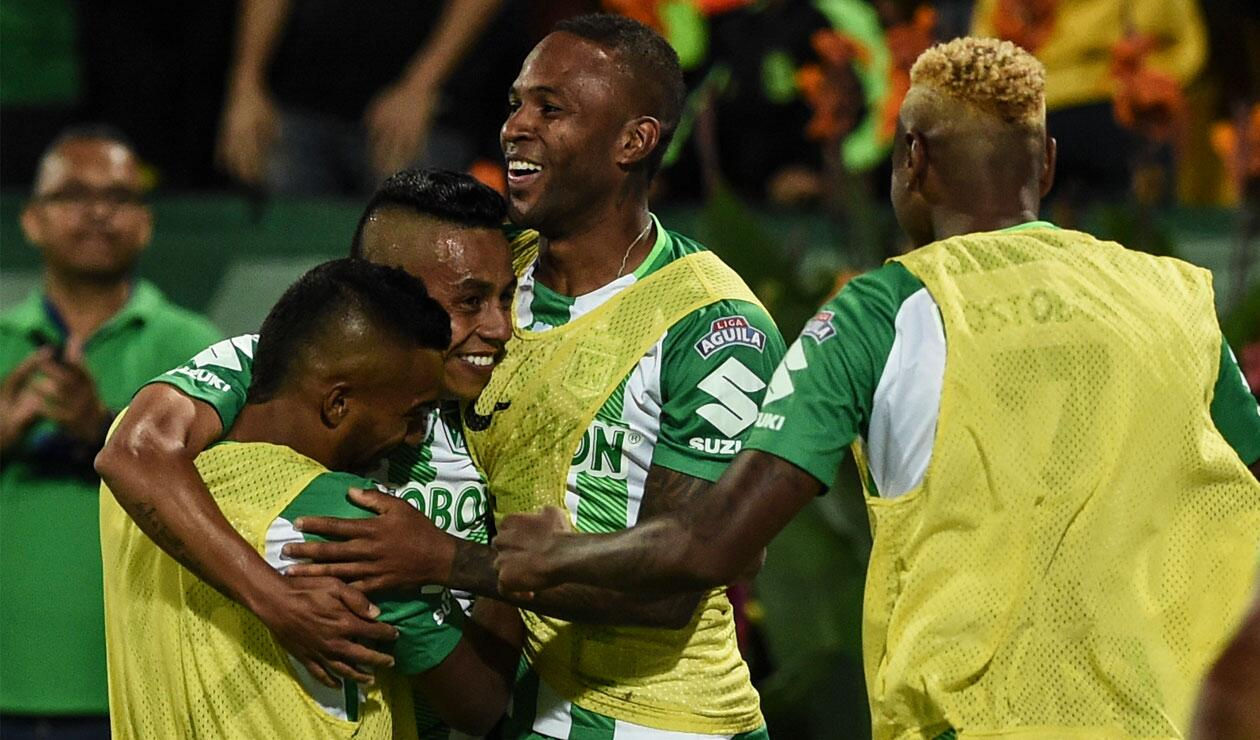 Atlético Nacional pasó como primero del grupo A en la Copa Libertadores