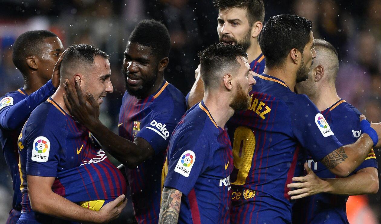 Barcelona en la temporada 2017-2018