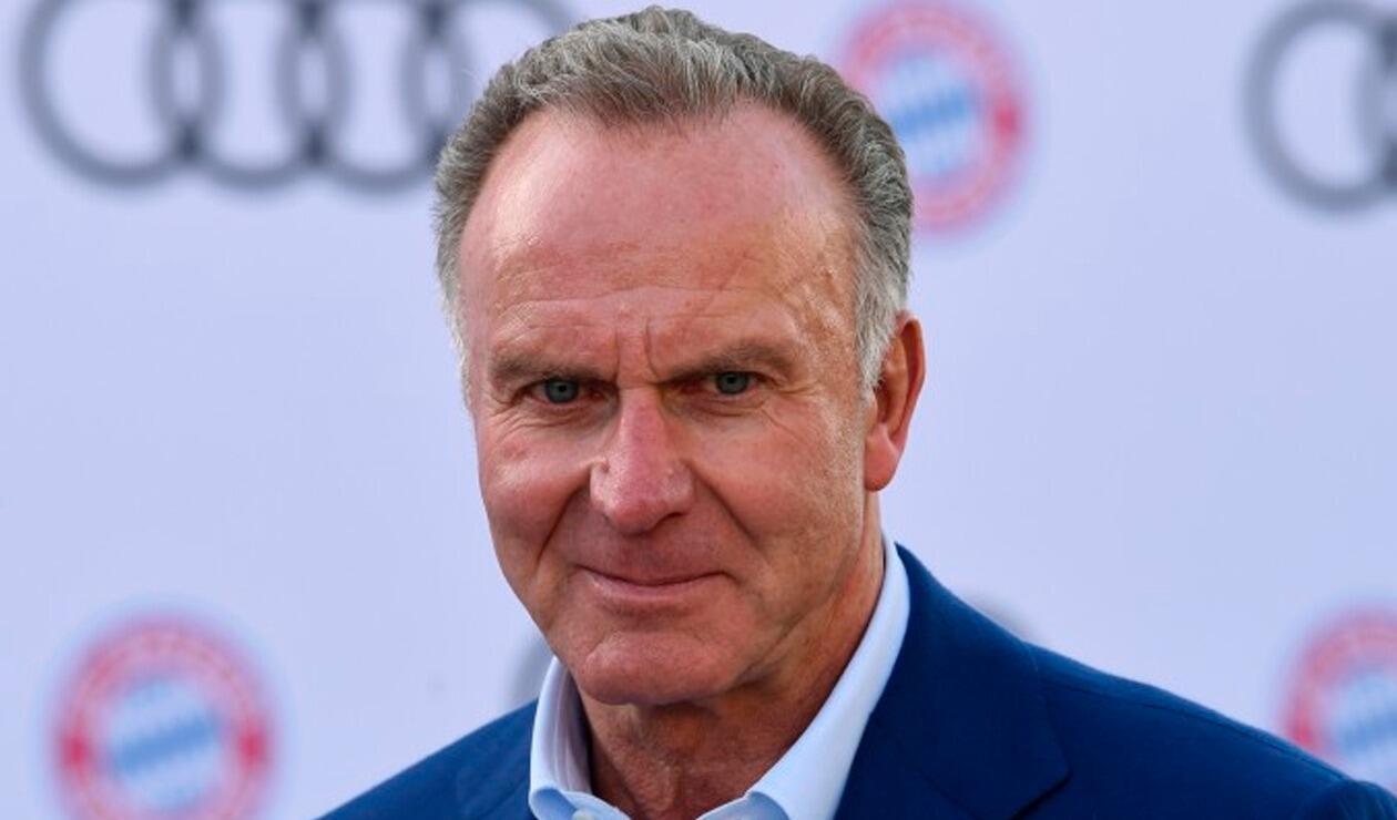 Karl-Heinz Rummenigge, presidente del Bayern Múnich