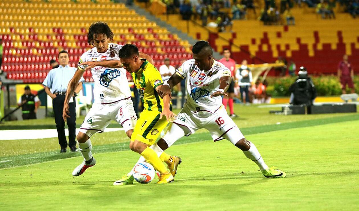 Bucaramanga cayó ante Deportes Tolima