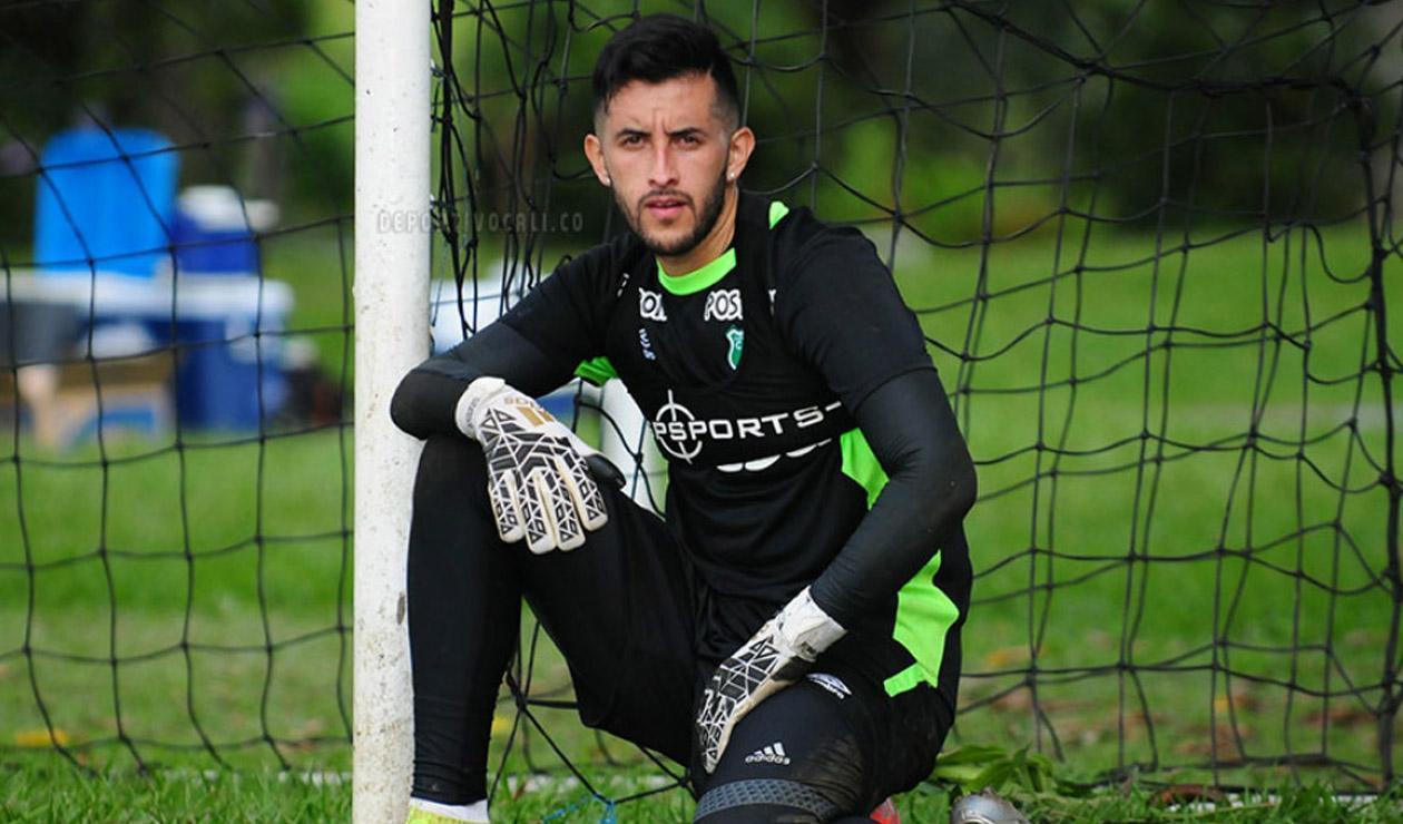 Camilo Vargas, portero del Deportivo Cali